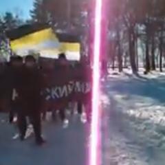 Русский Марш в Хабаровске