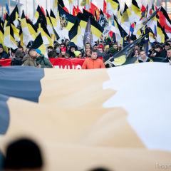 Русский Марш в Люблино — обзор колонн. Лучшие фото