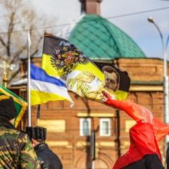 На «Русский марш» в Иркутске собрались около 150 человек