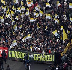10-й Русский Марш прошёл в 35 регионах