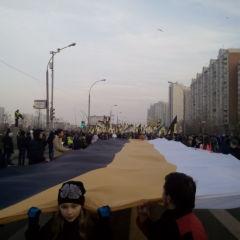 Первые впечатления о Русском Марше в Москве