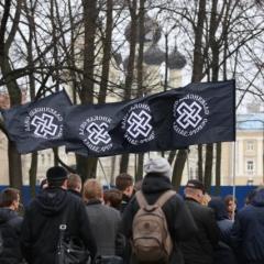 Русский Марш в Санкт-Петербурге. Митинг за Славянское Единство
