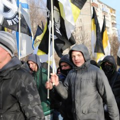 1000 человек вышли на Русский Марш в Нижнем Новгороде