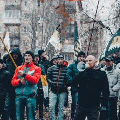 «Русский Марш» в Сыктывкаре (часть вторая. Митинг)