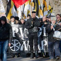 Русский Марш состоялся в Екатеринбурге