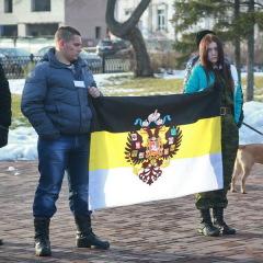 Русский Марш прошёл в Барнауле
