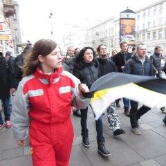 Несанкционированный марш в Санкт-Петербурге