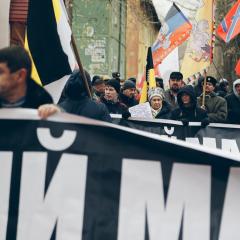 В Самаре прошёл малочисленный Русский Марш