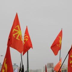 РМ в Люблино 2015 г Москва. Полиция и кельтские кресты