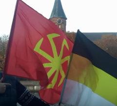 Акция солидарности прошла с Русским Маршем в Калининграде