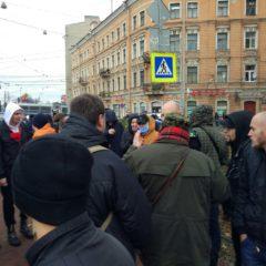 Соратники Питерского НОРМ приняли участие в Русском Марше