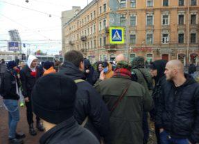 Русский Марш 2017 в Санкт-Петербурге