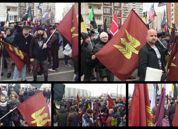 Соратники Комитета «Нация и Свобода» оштрафованы за проведение Русского Марша 2017