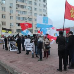 В Саратове прошел марш «За социальное и национальное государство»