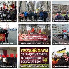 Русский Марш за национальное и социальное государство и акции солидарности с ним прошли в 9 городах РФ
