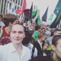 Режим Путина фабрикует политическое дело против лидера левых националистов Никиты Зайцева