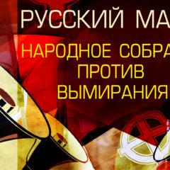 Русский Марш 2019: народное собрание против вымирания!